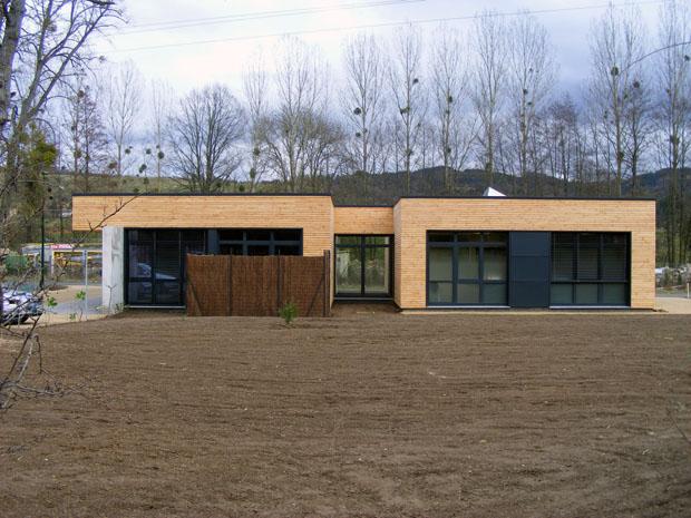 Caillaud bourleyre maison ossature bois for Constructeur maison contemporaine auvergne